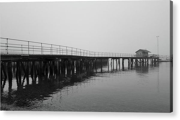 Pier At Southwest Harbor, Maine Acadia National Park - Acrylic Print from Wallasso - The Wall Art Superstore