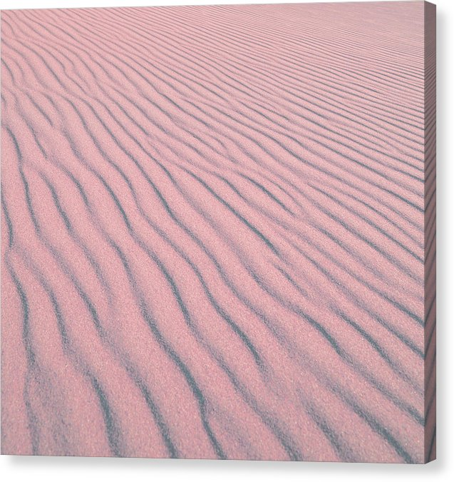 Pink Sand Dunes - Canvas Print from Wallasso - The Wall Art Superstore