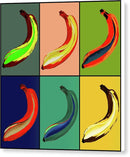 Pop Art Bananas - Canvas Print from Wallasso - The Wall Art Superstore