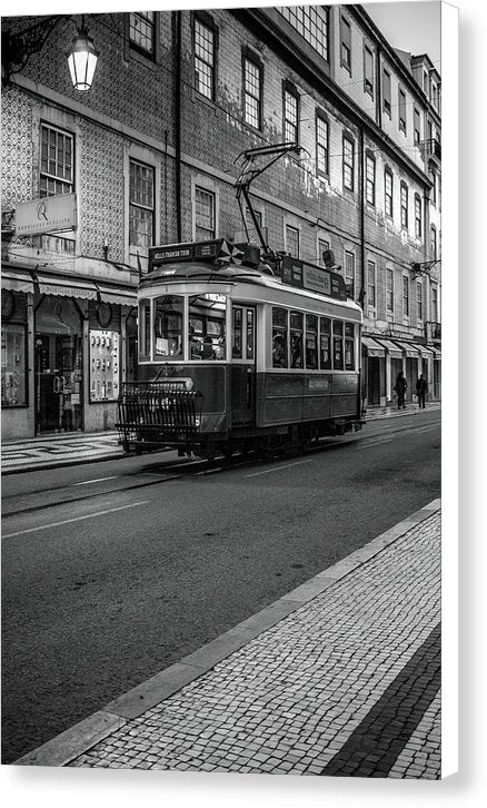 Quaint Cable Car Railway - Canvas Print from Wallasso - The Wall Art Superstore