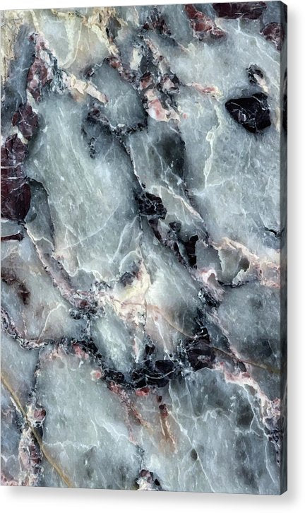 Quartz Marble Texture - Acrylic Print from Wallasso - The Wall Art Superstore