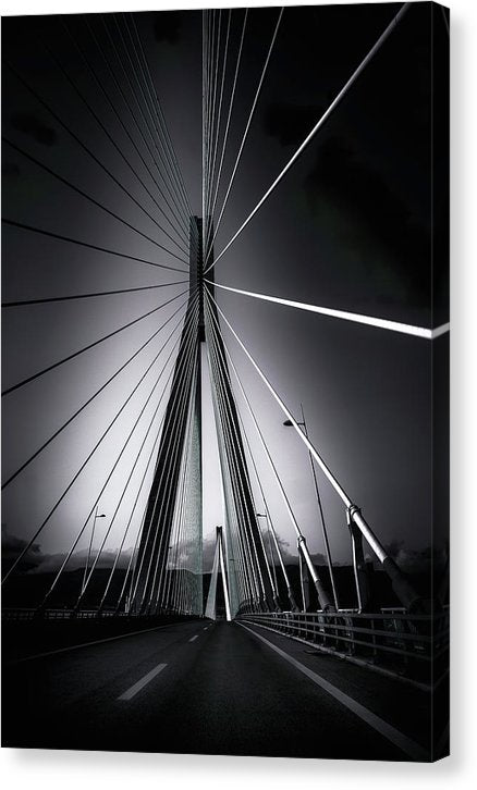 Rio Antirrio Bridge, Greece - Canvas Print from Wallasso - The Wall Art Superstore