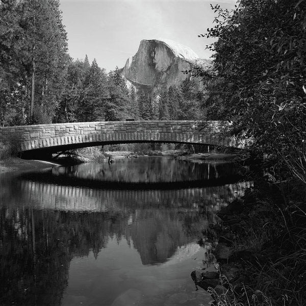 Sentinel Bridge In Yosemite National Park - Art Print from Wallasso - The Wall Art Superstore