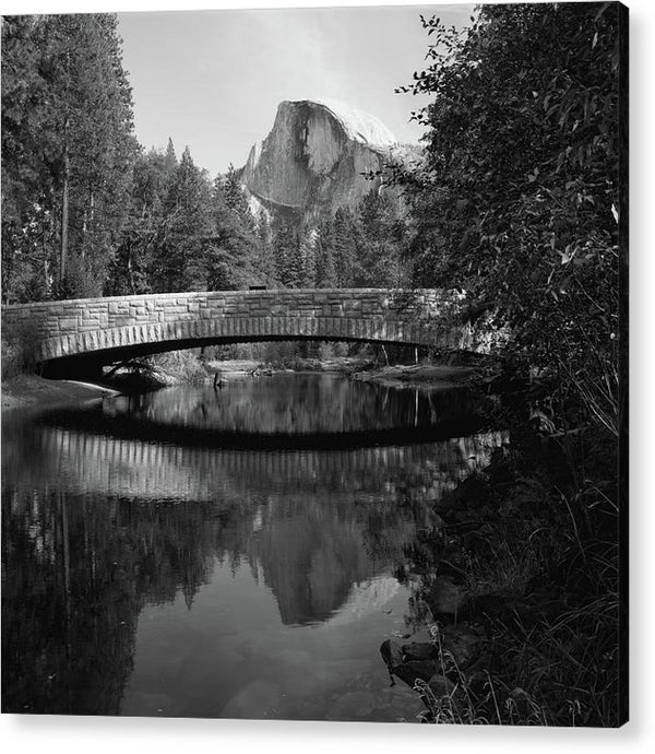 Sentinel Bridge In Yosemite National Park - Acrylic Print from Wallasso - The Wall Art Superstore