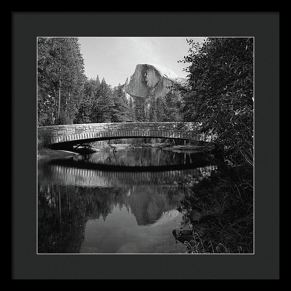 Sentinel Bridge In Yosemite National Park - Framed Print from Wallasso - The Wall Art Superstore