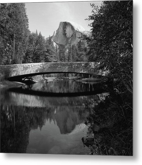 Sentinel Bridge In Yosemite National Park - Metal Print from Wallasso - The Wall Art Superstore