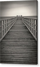 Sepia Wood Boardwalk - Acrylic Print from Wallasso - The Wall Art Superstore