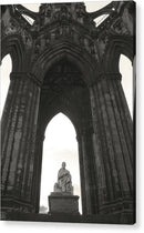 Sir Walter Scott Monument In Edinburgh Scotland - Acrylic Print from Wallasso - The Wall Art Superstore