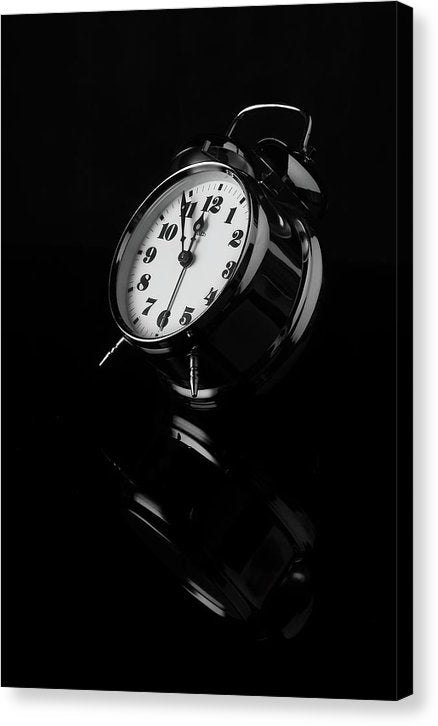 Sleek Alarm Clock - Canvas Print from Wallasso - The Wall Art Superstore