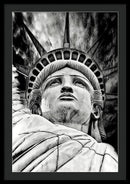 Statue of Liberty Illustration - Framed Print from Wallasso - The Wall Art Superstore