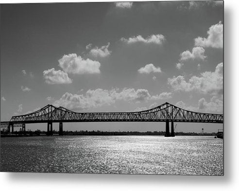 Steel Bridge Sideview - Metal Print from Wallasso - The Wall Art Superstore