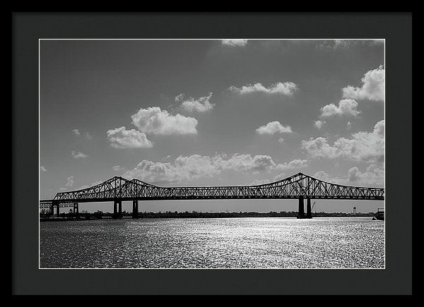 Steel Bridge Sideview - Framed Print from Wallasso - The Wall Art Superstore