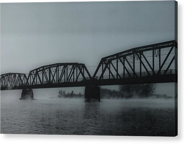 Blue Steel Bridge - Acrylic Print from Wallasso - The Wall Art Superstore