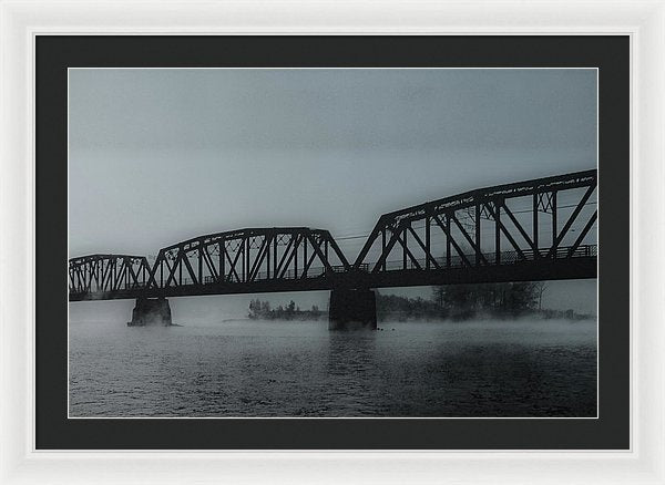 Blue Steel Bridge - Framed Print from Wallasso - The Wall Art Superstore