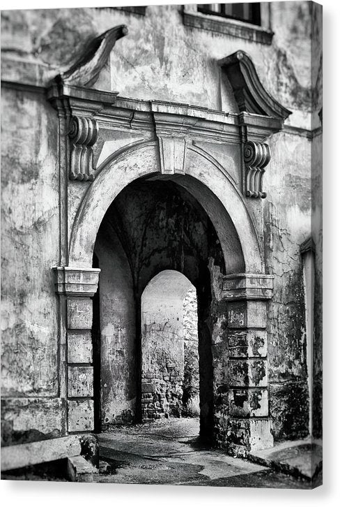 Stone Archway - Canvas Print from Wallasso - The Wall Art Superstore