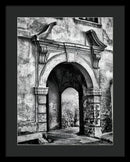 Stone Archway - Framed Print from Wallasso - The Wall Art Superstore