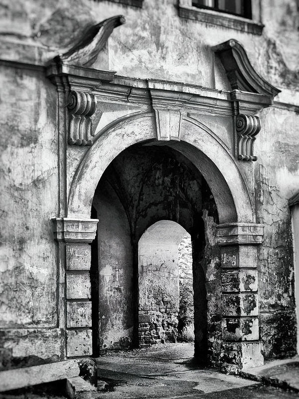Stone Archway - Art Print from Wallasso - The Wall Art Superstore