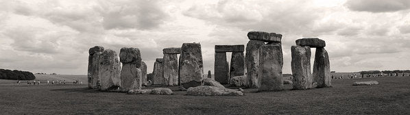 Stonehenge Panorama - Art Print from Wallasso - The Wall Art Superstore