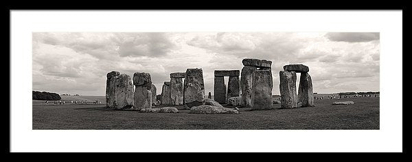 Stonehenge Panorama - Framed Print from Wallasso - The Wall Art Superstore
