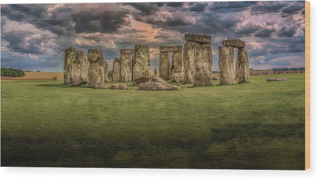 Stonehenge - Wood Print from Wallasso - The Wall Art Superstore