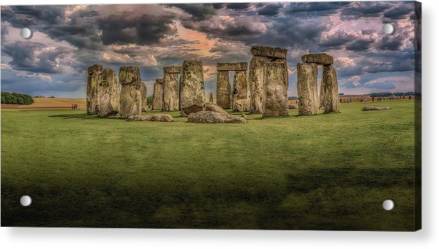 Stonehenge - Acrylic Print from Wallasso - The Wall Art Superstore