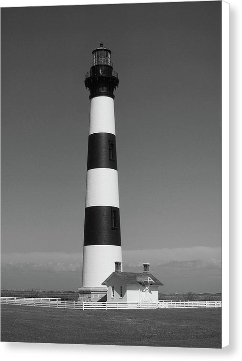 Striped Lighthouse - Canvas Print from Wallasso - The Wall Art Superstore