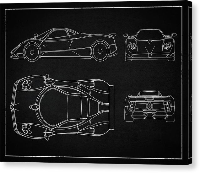 Supercar Design - Canvas Print from Wallasso - The Wall Art Superstore
