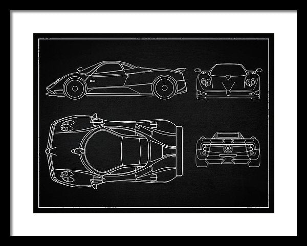 Supercar Design - Framed Print from Wallasso - The Wall Art Superstore