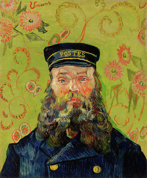 The Postman Joseph Roulin by Vincent van Gogh, 1888 - Art Print from Wallasso - The Wall Art Superstore