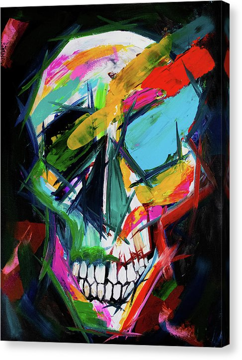 The True Face of Life by Jessica Contreras - Canvas Print from Wallasso - The Wall Art Superstore