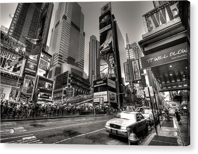 Times Square, New York City - Acrylic Print from Wallasso - The Wall Art Superstore