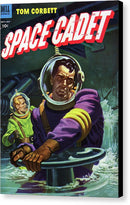Tom Corbett Space Cadet, Vintage Comic Book - Canvas Print from Wallasso - The Wall Art Superstore