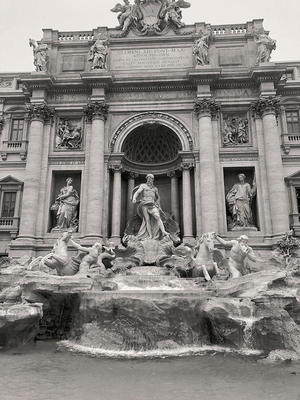 Trevi Fountain In Rome Italy - Art Print from Wallasso - The Wall Art Superstore