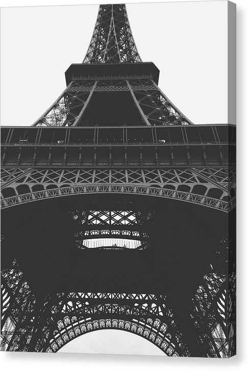 Under The Eiffel Tower - Canvas Print from Wallasso - The Wall Art Superstore