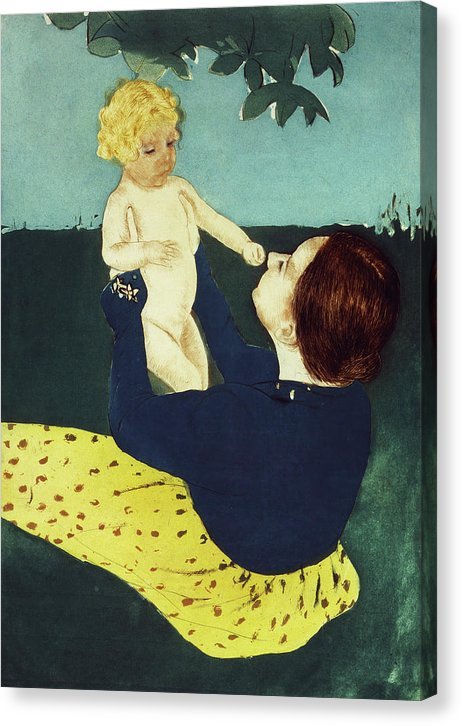 Under The Horse Chestnut Tree by Mary Cassatt, 1898 - Canvas Print from Wallasso - The Wall Art Superstore