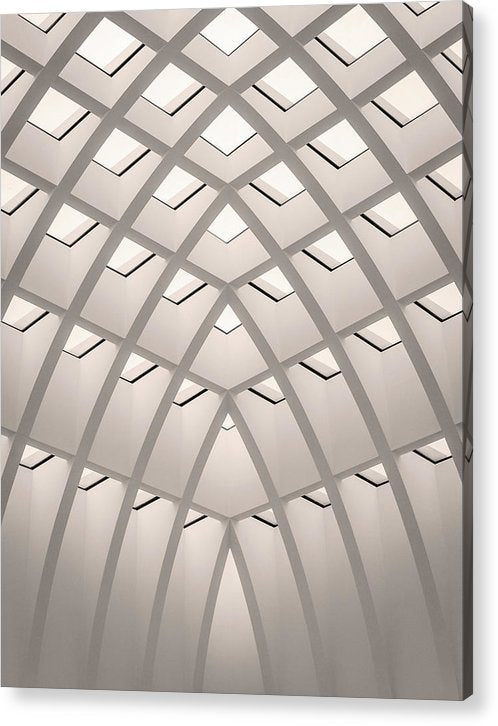 Unique Architectural Roof - Acrylic Print from Wallasso - The Wall Art Superstore