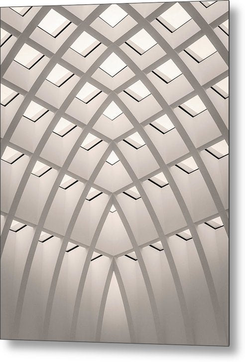 Unique Architectural Roof - Metal Print from Wallasso - The Wall Art Superstore