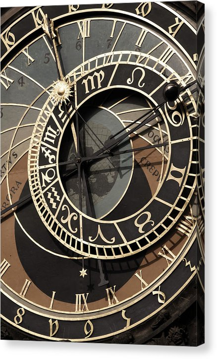 Unique Clock Face - Canvas Print from Wallasso - The Wall Art Superstore