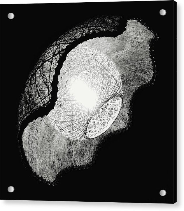 Unique Lamp Shade - Acrylic Print from Wallasso - The Wall Art Superstore