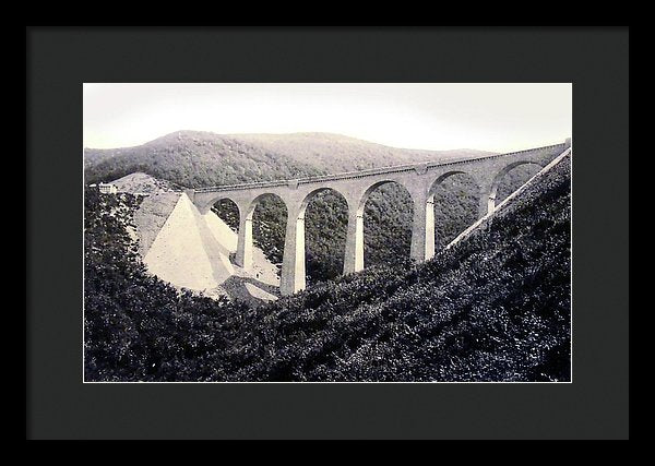 Viaduct Bridge In Hubertus Canyon, Germany - Framed Print from Wallasso - The Wall Art Superstore
