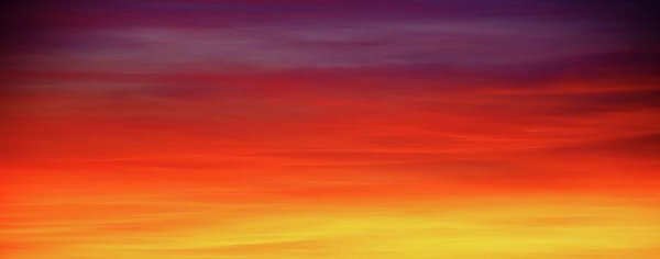 Vibrant Sunset Sky - Art Print from Wallasso - The Wall Art Superstore