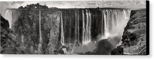 Victoria Falls Waterfall In Africa, Panorama - Canvas Print from Wallasso - The Wall Art Superstore