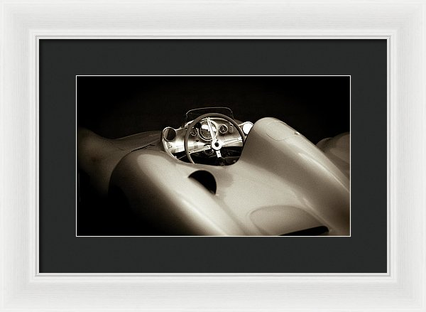 Vintage 1955 Mercedes-benz W 196 R Sports Car - Framed Print from Wallasso - The Wall Art Superstore
