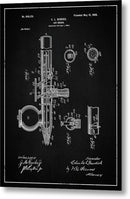 Vintage Air Brush Patent, 1900 - Metal Print from Wallasso - The Wall Art Superstore