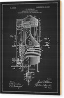 Vintage Alcohol Still Patent, 1907 - Wood Print from Wallasso - The Wall Art Superstore