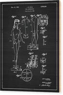 Vintage Barbie Doll Patent, 1961 - Wood Print from Wallasso - The Wall Art Superstore