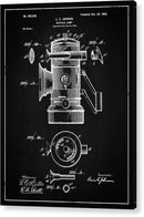 Vintage Bicycle Lamp Patent, 1900 - Acrylic Print from Wallasso - The Wall Art Superstore