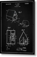 Vintage Cat Toy Patent, 1940 - Metal Print from Wallasso - The Wall Art Superstore