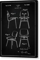 Vintage Chair Patent, 1947 - Canvas Print from Wallasso - The Wall Art Superstore