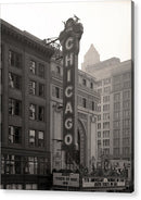 Vintage Chicago Theater Sign - Acrylic Print from Wallasso - The Wall Art Superstore